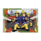 Brandweerman Sam Puzzel 2x12 stukjes_