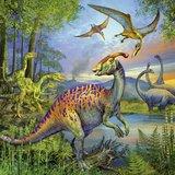 Dinosauri'rs Puzzel 3x49 stukjes_