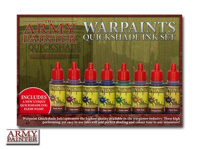 The Army Painter Warpaints Quickshade Ink Set