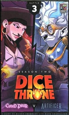 Dice Throne Season 2 Box 3 Cursed Pirate vs Artificer