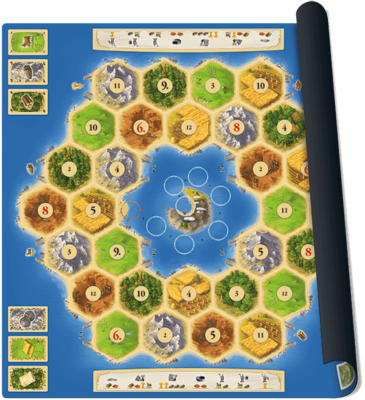 Catan Playmat Atoll
