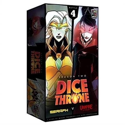 Dice Throne Season two Vampire Lord vs Seraph