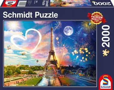 Parijs Dag en Nacht Puzzel