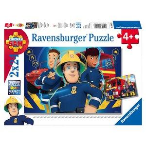 Brandweerman Sam Helpt Je Puzzel 2x24 stukjes