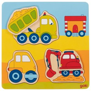 3D puzzel Bouwplaats - Goki (57721)