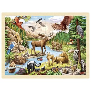 Puzzel Noord-Amerikaanse wildernis - Goki (57409)