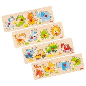 Lift-out puzzel voor de allerkleinsten - Goki (57440)