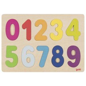 Cijferpuzzel 0-9 - Goki (57731)