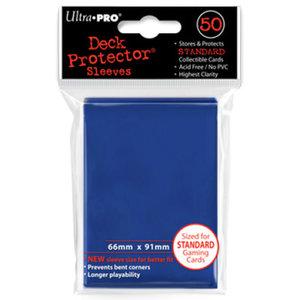 Deck Protector Sleeves Standard Blauw 66mm x 91mm (50)