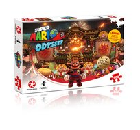 Super Mario Odyssey Brower's Castle Puzzle