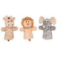 Hand puppets, wild animals