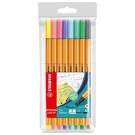 Roll & Write upgrade kit 1 - Fineliner - Stabilo 88 - Pastel Colors