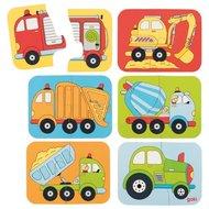Minipuzzel, voertuigen - Goki (57747)