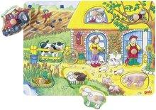 Achtergrond puzzel boerderij - Goki (57805)