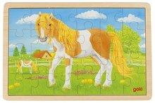 Puzzel, zomer op de paardenweide - Goki (57481)